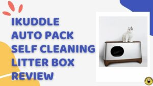 iKuddle Auto Pack Self Cleaning Litter Box